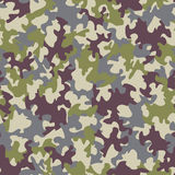 Seamless camouflage pattern Stock Photos