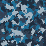 Seamless camouflage pattern. Vector-Illustration Royalty Free Stock Images