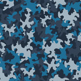 Seamless camouflage pattern Stock Photo
