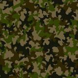 Seamless camouflage pattern. Vector-Illustration Royalty Free Stock Image