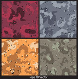 Seamless Camouflage pattern Vector Illustration Royalty Free Stock Photos