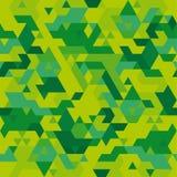 Seamless camouflage texture stock illustration