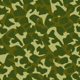 Seamless Camouflage texture. Vector Seamless Camouflage texture Stock Photos