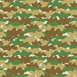 Seamless camouflage wallpaper Stock Photography