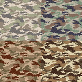 Seamless camouflage wallpaper pattern Royalty Free Stock Images