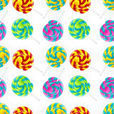 Seamless candy background Royalty Free Stock Image