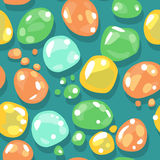 Seamless candy pattern Royalty Free Stock Photos