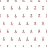 Seamless candy pattern. Candy vector Stock Photography