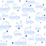 Seamless car background Stock Photos