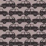 Seamless car  grungy wallpaper Stock Photography