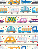 Seamless car pattern. Vector illustration Stock Photography