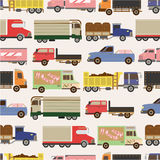 Seamless car pattern Royalty Free Stock Image