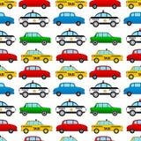 Seamless car pattern Stock Image