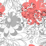 Seamless cartoon background Royalty Free Stock Images