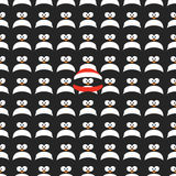 Seamless cartoon pattern Stock Photography