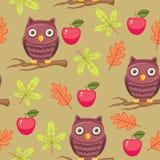 Seamless wallpaper Stock Image