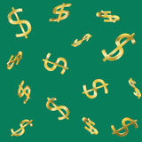 Seamless cash pattern Royalty Free Stock Photography