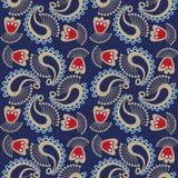 Seamless cashmere pattern