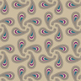 Seamless cashmere pattern Stock Photo