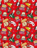 Seamless casino pattern Stock Photo