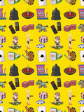 Seamless casino pattern Royalty Free Stock Photography