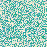 Seamless casual pattern with brunches and berries Royalty Free Stock Photo
