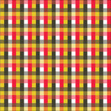 Seamless cell. Seamless checkered pattern on fabric royalty free illustration