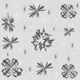 Seamless cell background. Grey and white vector seamless cell background Royalty Free Stock Photo
