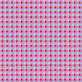 Seamless cell geometric colorful pattern for textile Stock Image