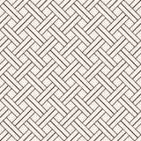 Celtic national ornament. Seamless Celtic national ornament interlaced ribbon  on a beige background Stock Images