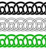 Seamless celtic ornaments Royalty Free Stock Photo