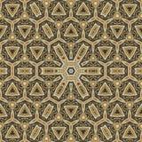 Seamless celtic pattern design 001. Seamless gold celtic pattern design stock illustration