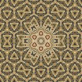 Seamless celtic pattern design 002. Seamless gold celtic pattern design Royalty Free Stock Photo