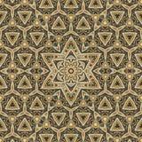 Seamless celtic pattern design 004. Seamless gold celtic pattern design vector illustration
