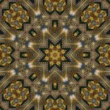 Seamless celtic pattern 004. Seamless celtic pattern - sacred geometry Stock Photos