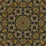 Seamless celtic pattern 002. Seamless celtic pattern - sacred geometry Stock Images