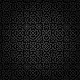 Seamless Celtic pattern. ! The vector pattern is seamless if the overlay is removed Stock Image