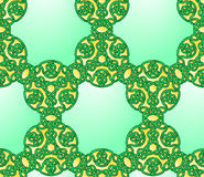 Seamless Celtic Style Knot Pattern Royalty Free Stock Image