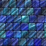 Seamless ceramic tile bathroom or pool texture. Seamless blue ceramic tile bathroom or pool texture royalty free illustration