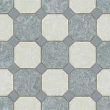 Seamless ceramic tile kitchen floor stock image