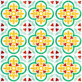 Seamless ceramic tiles 07. A seamless background image of patterned ceramic tiles for your design purposes stock illustration