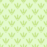 Seamless cereals pattern Royalty Free Stock Image
