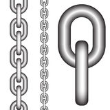 Seamless chain Royalty Free Stock Photo