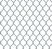 Seamless Chain Fence Stock Images