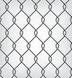 Seamless Chain Fence. Royalty Free Stock Image