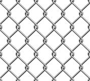 Seamless Chain Fence 2 Stock Photo