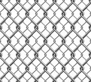 Seamless Chain Fence 3 Royalty Free Stock Images