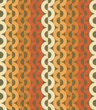 Seamless chain grange pattern Stock Photography