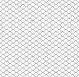 Seamless chain link fence Stock Image