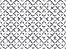 Seamless chain mail ring mesh pattern Royalty Free Stock Photo